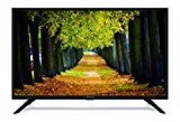 Strong SRT 32HB3003 Televisor LED HD 80cm 32 Pulgadas (HD Ready, HDTV, DVB-T2, DVB-S2, DVB-C, USB, HDMI, Modo Hotel) Negro