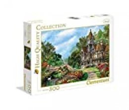 Clementoni- Puzzle 500 Piezas Old Waterway Cottage, Multicolor (35048.3)