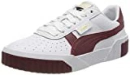 PUMA Cali Wn's, Zapatillas para Mujer, Blanco White-Burnt Russet, 37 EU