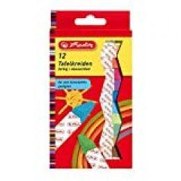 Herlitz 8648206 tiza Multicolor 12 pieza(s) - Tizas (Multicolor, 12 Colores, Rectangular, Niño/niña, Caja, 12 pieza(s))