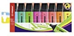 STABILO BOSS Original Marcador fluorescente multicolor- Estuche con 8 colores