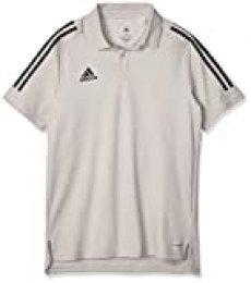 adidas CON20 PRE JKT Sport Jacket, Hombre, Team Mid Grey/Black, S