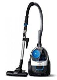 Philips PowerPro Compact FC9332/09 - Aspirador con Sistema Ciclonico sin Bolsa, Deposito 1.5 L, Filtro Antialergias, Facil de Limpiar
