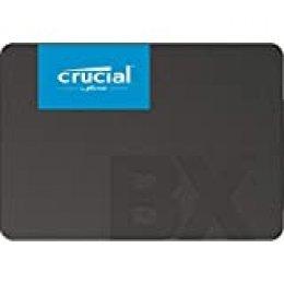 Crucial BX500 240 GB CT240BX500SSD1(Z) Unidad interna de estado sólido, hasta 540 MB/s (3D NAND, SATA, 2.5 Pulgadas)