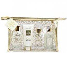 Gloss - caja de baño, caja de regalo para mujeres -  Kit de baño Firma - Vainilla jengibre - 4pcs