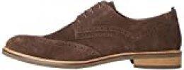 find. Zapatos de Cordones Brogue Hombre, Marrón (Taupe), 45 EU