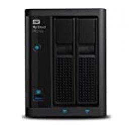 WD My Cloud Pro PR2100 Pro Series 2-Bay Almacenamiento en red - NAS - WDBBCL0040JBK-EESN,PR2100,4 TB