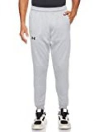 Under Armour Armour Fleece Jogger Pantalón De Chándal, Hombre, Gris (Steel Light Heather/Black 035), L