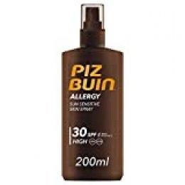 Piz Buin Allergy Protector Solar en Spray, SPF 30, Protección Alta para Pieles Sensibles - 200 ml