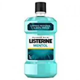 Listerine - Enjuague Bucal Mentol, 1000 ml