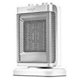 Cecotec Calefactor Cerámico Ready Warm 6100 Ceramic Rotate. Oscilante, 3 Modos, Termostato Regulable, Sistema Antivuelco, Protección sobrecalentamiento, 1500 W