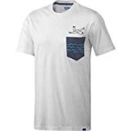 Adidas Hombres Originales Gonz Tee, blanca