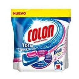 Colon Detergente de Ropa para Lavadora en Cápsulas con Quitamanchas Vanish - 50 Dosis