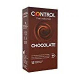 Control Preservativos Chocolate 12 Uds 12 Unidades 50 g