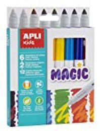 APLI Kids 16808 - Rotuladores Magic 8 u.
