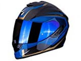 Scorpion 14 - 276 - 66 - exo-1400 Air Carbon Esprit black-blue XXL