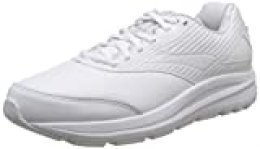 Brooks Addiction Walker 2, Zapatillas de Running para Hombre, Blanco (White/White 142), 43 EU