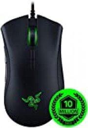 Razer DeathAdder Elite - Ratón  Esposts gaming, sensor óptico True 16000 5G dpi, interruptores de mouse mecánico Razer (hasta 50 millones de clics)