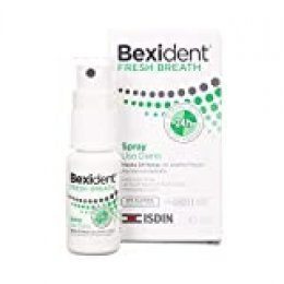 Isdin Bexident Fresh Breath Spray de Uso diario, Para un aliento Fresco y Duradero 1 x 15 ml