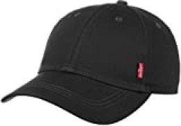 Levi's Classic Twill Red Tab, Gorra de béisbol Hombre, Negro (Black), Talla única