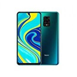 "Xiaomi Redmi Note 9S - Smartphone de 6.67"" FHD+ (DotDisplay, Snapdragon 720G, 6 GB RAM, 128 GB ROM, cámara cuádruple de 48 MP, batería de 5020 mAh) Aurora Blue [International Versional]"
