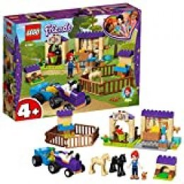 LEGO Friends - Establo de los Potros de Mia, juguete divertido de construcción para aventuras con caballos y mascotas (41361)