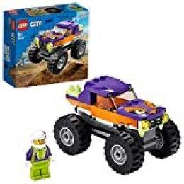 LEGO City Great Vehicles - Monster Truck Set de Construcción de un Camión con Espacio para Minifigura, Juguete Recomendado a Partir de 5 Años (60251)