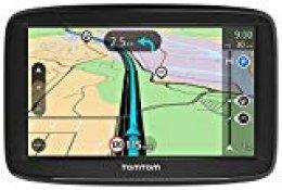 """Tomtom Start 52 - Navegador GPS (5"""" Pantalla táctil, Flash, batería, Encendedor de Cigarrillos, Interno, MicroSD/TransFlash), (versión importada Italia)"""