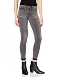 Only Onlroyal Reg SK Dnm Jeans Bj312 Noos Vaqueros Skinny, Gris (Dark Grey Denim Dark Grey Denim), W32/L32 para Mujer