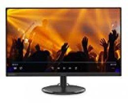 "Lenovo C27 - Monitor de 27"" (Pantalla FullHD/IPS, 1920 x 1080 pixeles, tiempo de respuesta de 4 ms, VGA, HDMI, 1000:1), Color Negro"