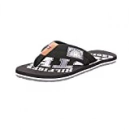 Tommy Hilfiger Essential TH Beach Sandal, Chanclas para Hombre, Negro (Black 990), 41 EU