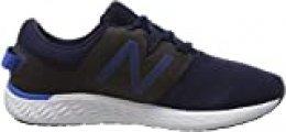 New Balance Fresh Foam Vero Racer h, Zapatillas de Running para Hombre, Azul (Navy Navy), 40 EU
