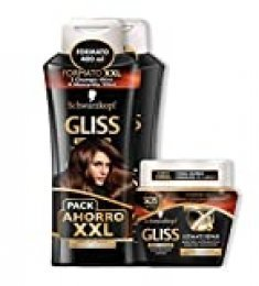 Gliss - 2 Champús 400 ml + Mascarilla Ultímate Repair 300 ml - Schwarzkopf