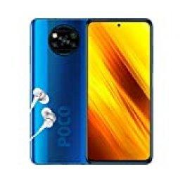 """Poco X3 NFC - Smartphone 6+64GB, 6,67"""" FHD+ cámara Frontal con Punch-Hole, Snapdragon 732G, 64MP AI Quad-cámara, 5160mAh, Color Azul Cobalto (versión española + 2 años de garantía)"""