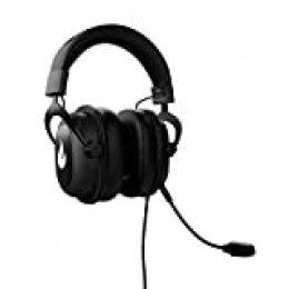 Flamefall Ymir - Auriculares de Gaming HD con Drivers de 53 mm, Micrófono extraíble con cancelación de ruido y Cable reforzado, compatible con PC / PS4 / XBOX / Nintendo Switch (PS4)