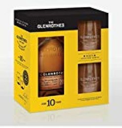 Estuche Glenrothes 10 + 2 Vasos - 700 ml