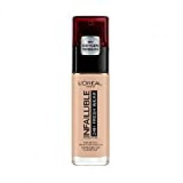 L'Oréal Paris Make-up designer París Infallible 24H Fresh Wear Base de Maquillaje de Larga Duración (Tono 110 Vanille Rosé), 30 ml