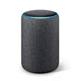 Echo Plus (2.ª generación) - Sonido de alta calidad y controlador de Hogar digital integrado, tela de color antracita