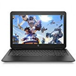 "HP Pavilion 15-bc500ns - Ordenador portátil de 15.6"" FullHD (Intel Core i5-9300H, 8GB RAM, 1TB HDD + 128GB SSD, NVIDIA GeForce GTX 1050-3GB, FreeDOS) negro - teclado QWERTY Español"