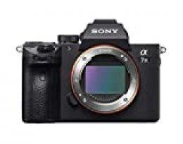 Sony Alpha 7 III - Cámara evil de fotograma completo (Enfoque automático rápido 0.02s, estabilización de imagen óptica de 5 ejes, 4K HLG, mayor duración de batería)