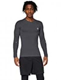 Under Armour Rush Heatgear Compression Camisa de Manga Larga, Hombre, Negro, XL