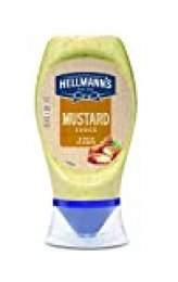 Hellmaann's - Salsa Mostaza A La Antigua 250 ml - Pack de 6 (Total 1500 ml)
