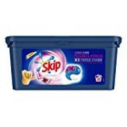 Skip Ultimate Triple Poder Detergente Capsulas Fragancia Mimosín - 32 Lavados