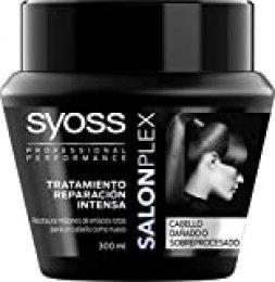 SYOSS - Mascarilla Salon Plex - Tratamiento de Reparación Intenso - 300 ml