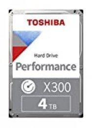 "Toshiba X300 - Disco Duro Interno de 4 TB, 3.5"""