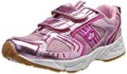 Lico Silverstar V, Zapatillas de Deporte Interior para Niñas, Rosa (Rosa/Pink Rosa/Pink), 25 EU