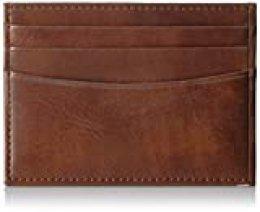 Amazon Essentials - Cartera minimalista delgada para hombre con bloqueo de RFID