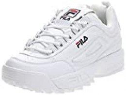FILA Disruptor, Zapatillas para Hombre, White, 43 EU