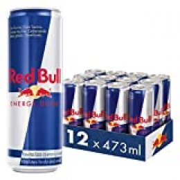 Red Bull Bebida Energética, Regular - 12 latas de 473 ml. - Total 5676 ml.