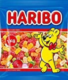 Haribo 0006680 Ositos de azúcar, Paquete de 12 x1 kg/bolsa